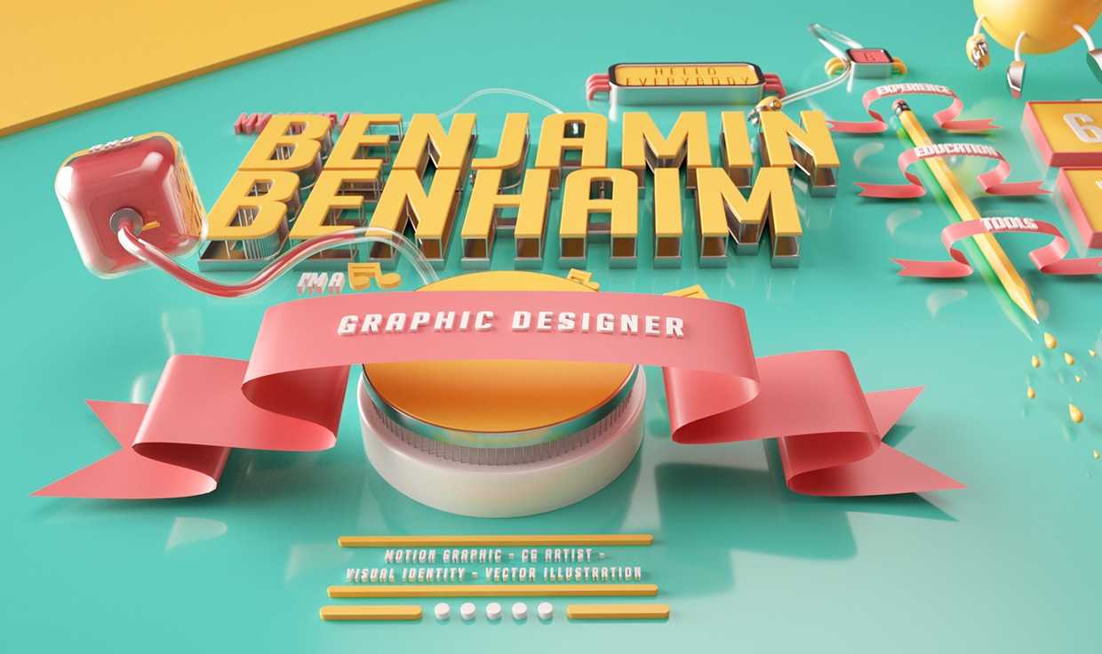 cinema 4d inspiration august 2016