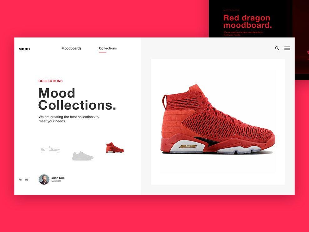 Sneakers Shopping Cart Design