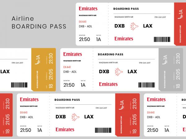 emirates boarding pass