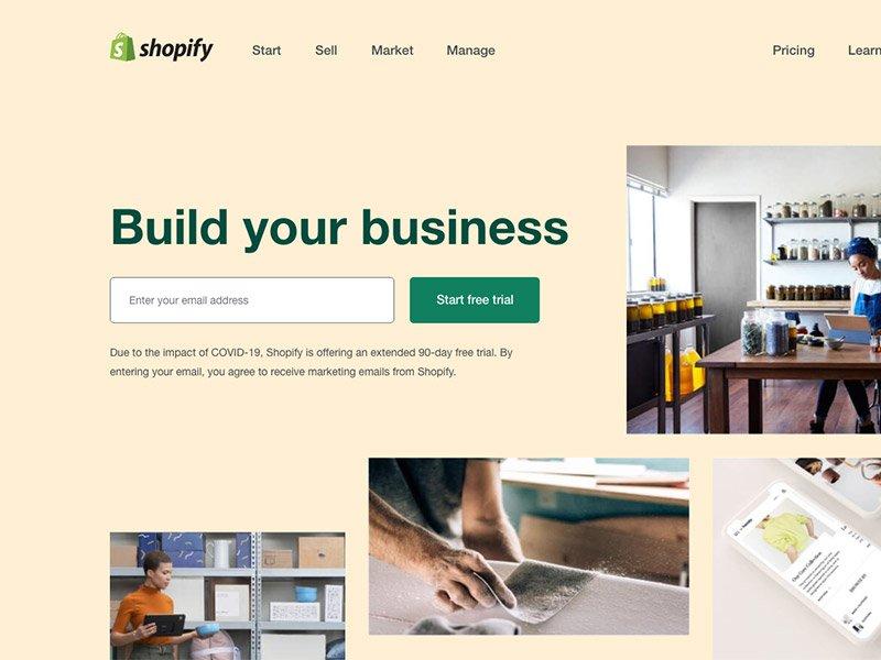 Shopify Landing Page thumbnail